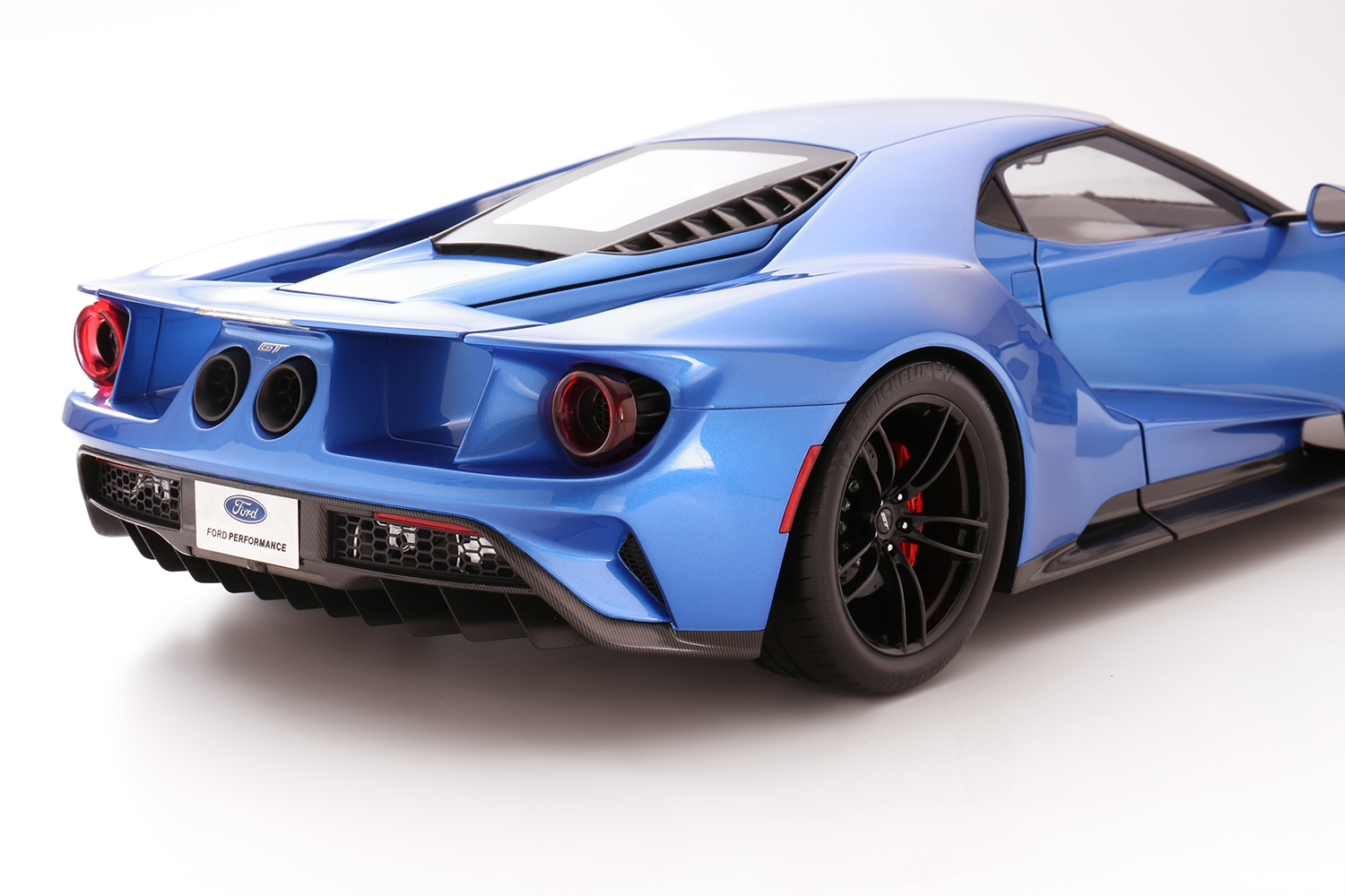 Ford GT Liquid Blue