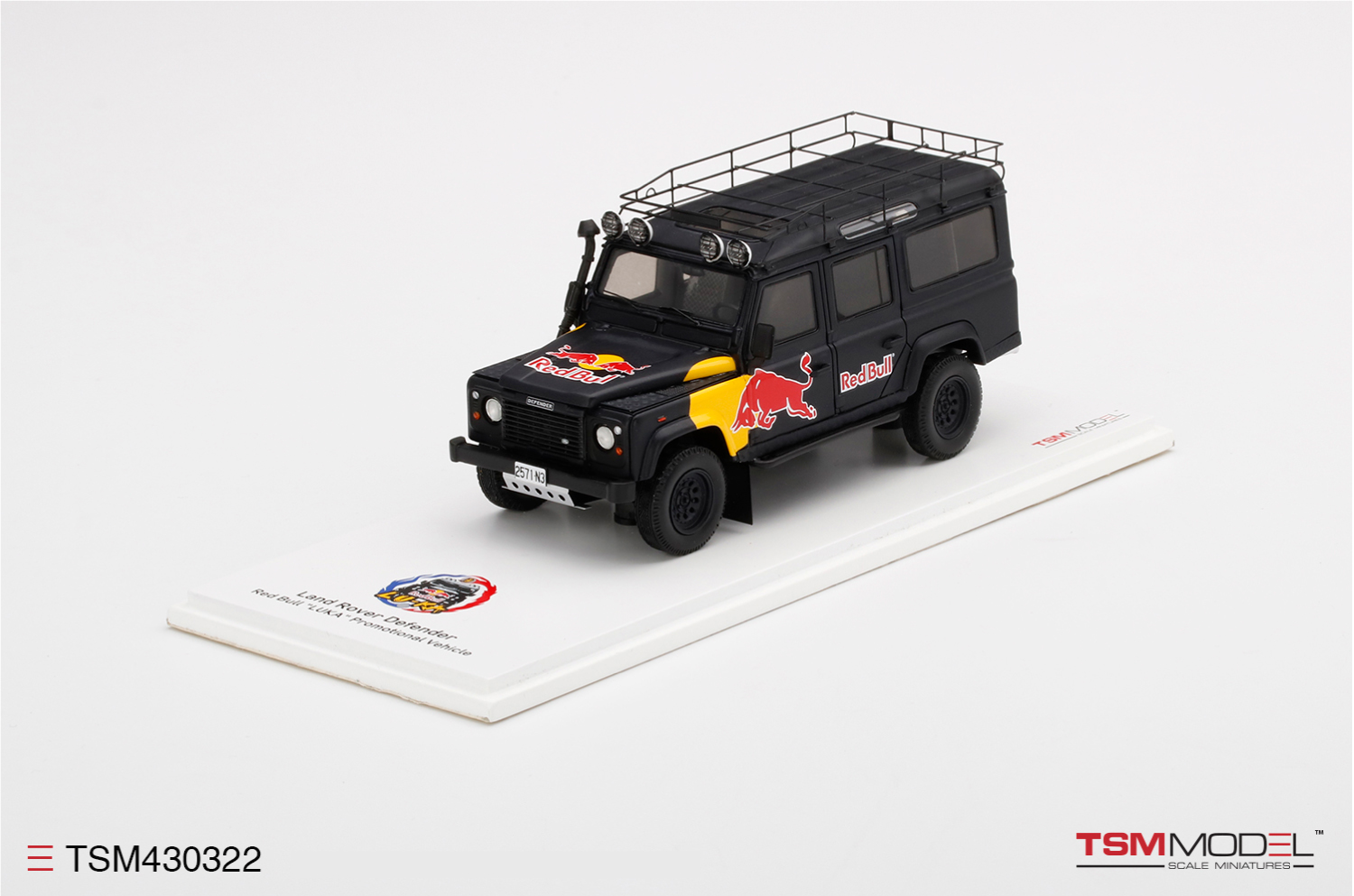 Land Rover Defender Red Bull LUKA