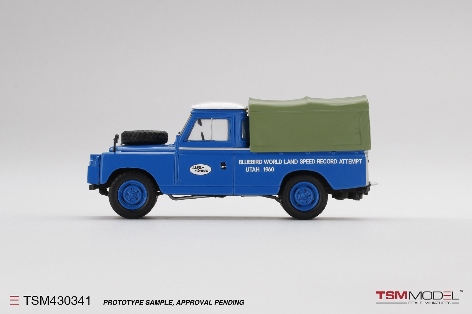 Land Rover Series II Bluebird-Proteus  CN7 Support Vehicle  1960 Bonneville Salt Flats