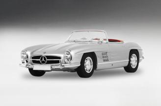 Mercedes-Benz 300 SL Roadster 1956 Silver LTD 50 Pcs