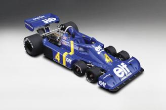 Tyrrell P34 #4 1976  Swedish GP 2nd Place, P. Depailler LTD 50 Pcs