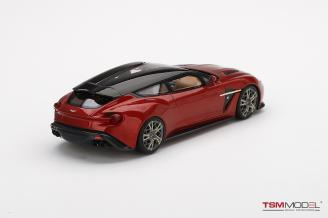 Aston Martin Vanquish Zagato Shooting Brake  Lava Red
